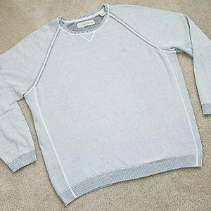 Tommy Bahama Lightweight Sweater Gray XL